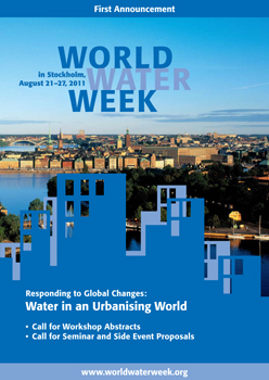 World Water Week Announcement - Green Blog Network